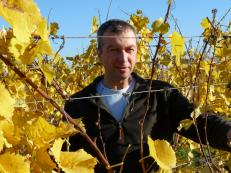M.koch, a winegrower in Bas-Rhin, France.